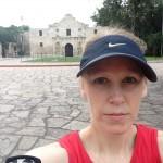 Gwen at the Alamo