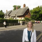 Gwen at Stratford-Upon-Avon