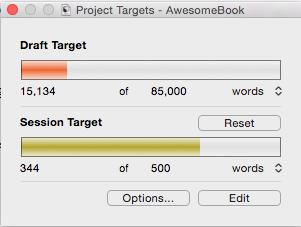 Making progress (Mac)