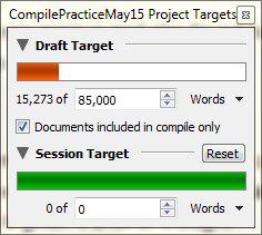 Setting targets (Windows)