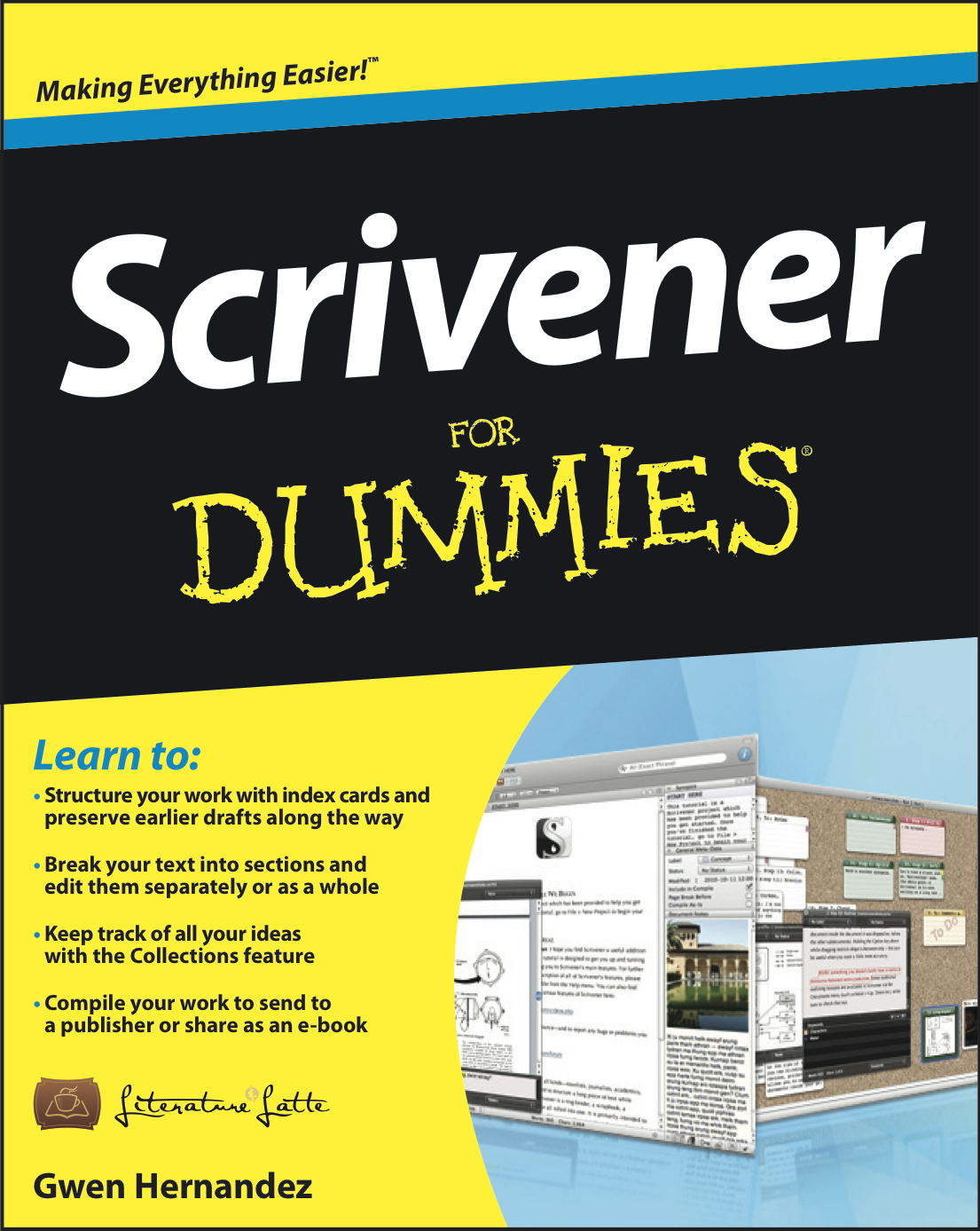 Scrivener For Dummies cover