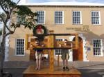boys in stocks in Bermuda