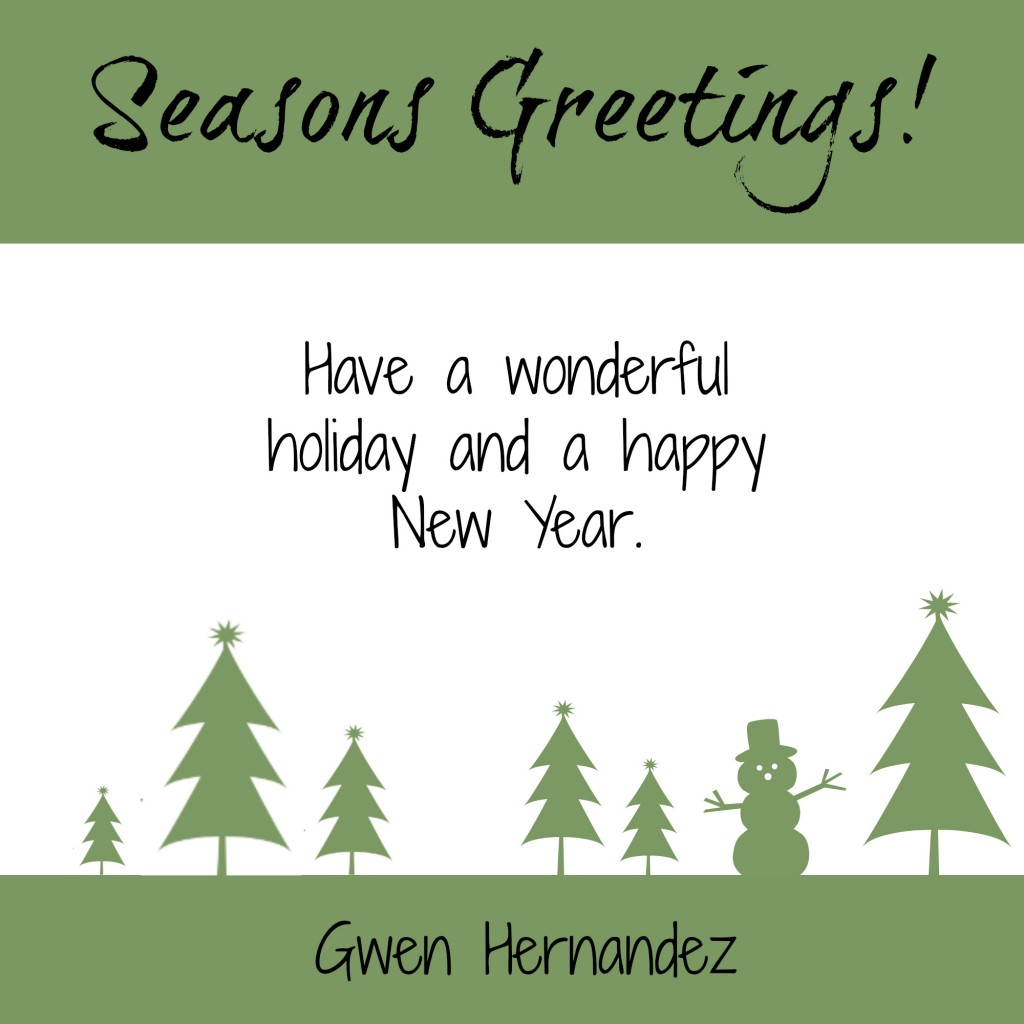 holiday greetings image