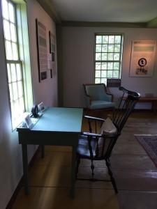 thoreau farm writing desk