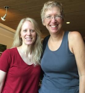 Gwen with Suzanne Brockmann